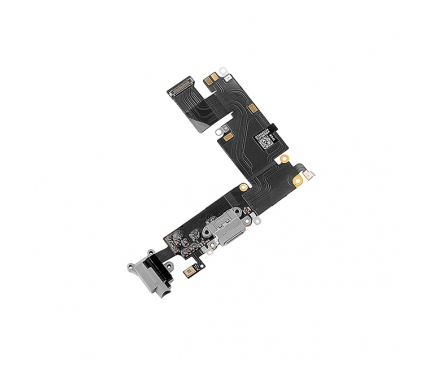 Banda cu conector incarcare / date audio si microfon Apple iPhone 6 Plus gri [0]