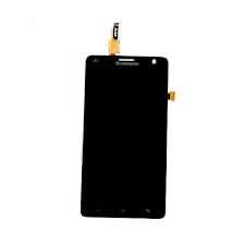 Display Lenovo S856 cu Touchscreen negru Original 0