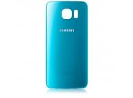 Capac baterie Samsung galaxy s6 g920 ORIGINAL ALBASTRU TOPAZ 0