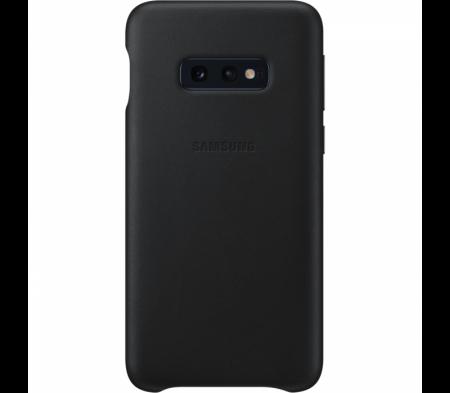 Husa Piele pentru Samsung Galaxy S10e, Black