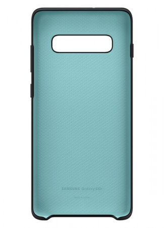 Husa spate Silicone Cover Flexible Gel pentru Samsung Galaxy S10 Plus G975f, neagra3