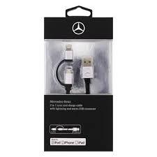 Cablu date iPhone + Micro Usb, Mecedes-Benz Original1