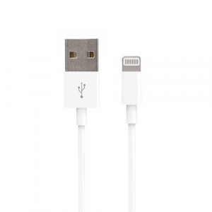 Cablu date iPhone 1m Alb Lighting Cable 1A, Forever1
