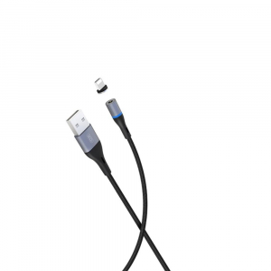 Cablu date magnetic iPhone 1m 2A Lighting Cable1