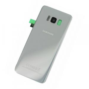 Capac baterie Samsung Galaxy S8 Silver G950 Original0