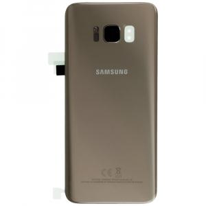 Capac baterie Samsung galaxy S8 G950 Gold Auriu Original0