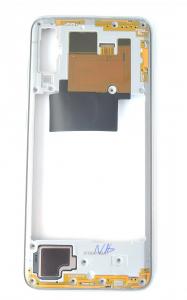Carcasa mijloc rama Samsung Galaxy A70 A705 Alb [1]