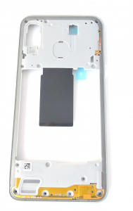 Carcasa mijloc rama Samsung Galaxy A40 A405 Alb [1]