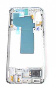 Carcasa mijloc rama Samsung Galaxy A40 A405 Alb [0]