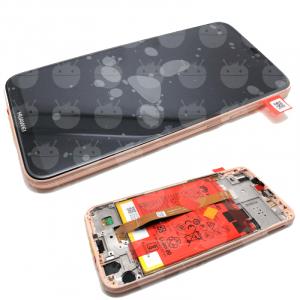 Ecran Display Huawei P20 Lite Service Pack + Acumulator + difuzor Original Pink [0]