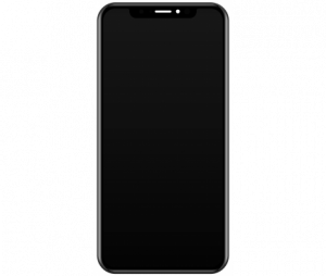 Ecran Display - Touchscreen Negru Apple iPhone 11 Pro MAX , SWAP Original, Dat jos de pe telefon0