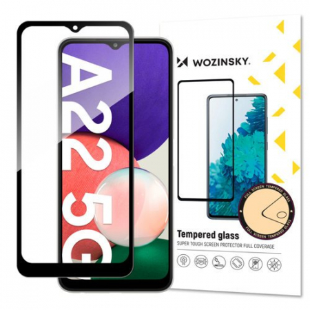 Folie sticla Samsung A22 4G  5D Full Glue 9H WOZINSKY [0]
