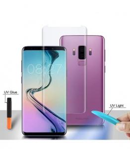 Folie Sticla Protectie Ecran cu Gel UV pentru Samsung S9 Plus G965f