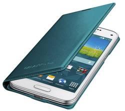 Husa Flip Samsung s5 mini Book Case Green0