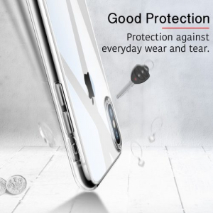 Husa slim ESR Eseential Zero iPhone X, Clear White3