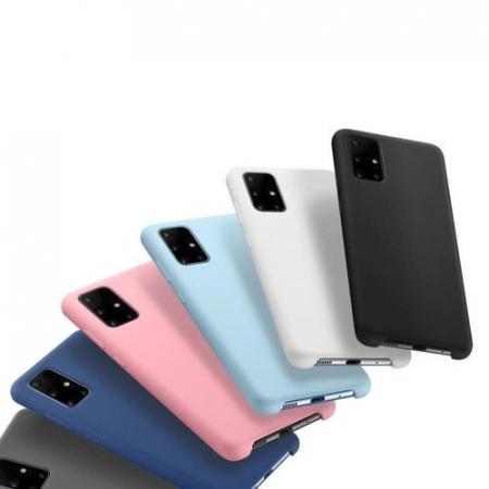 Husa Samsung S21 5g silicone flexible durable case Dark Blue, Wozinsky - Copie [1]