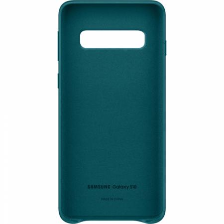 Husa Piele pentru Samsung Galaxy S10 G973f, Green2