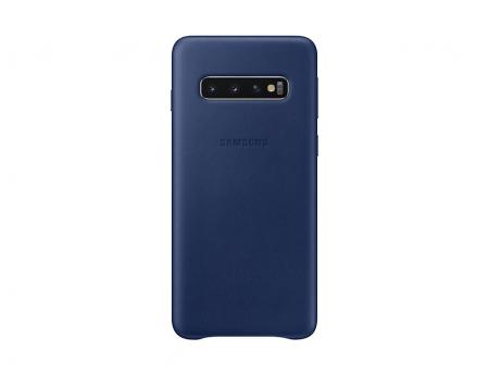 Husa Piele pentru Samsung Galaxy S10 G973f, Navy0