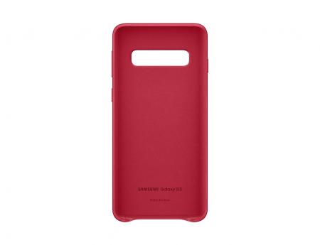 Husa Piele pentru Samsung Galaxy S10 G973f, Red Rosu2