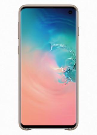 Husa Piele pentru Samsung Galaxy S10 G973f, Gray1