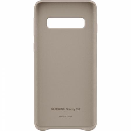 Husa Piele pentru Samsung Galaxy S10 G973f, Gray2