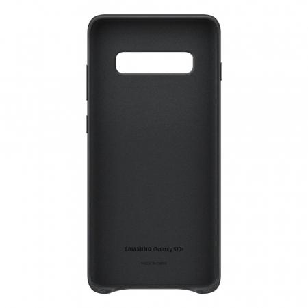 Husa Piele pentru Samsung Galaxy S10 Plus G975f, Neagra3