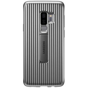 Husa Protective Standing Silver pentru Samsung S9 Plus G965f, Originala [0]