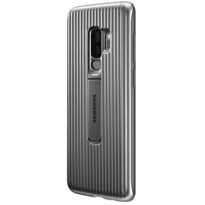 Husa Protective Standing Silver pentru Samsung S9 Plus G965f, Originala [2]