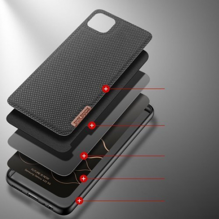 Husa Samsung A22 5g Fino case covered with nylon material [3]