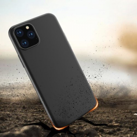 Husa Samsung A02s Versiune EU, Soft Case TPU gel protective Black [3]