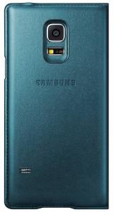 Husa Flip Samsung Cover S-View EF-CG800BG for Galaxy S5 Mini SM-G800, EF-CG800BGEGWW - Green1