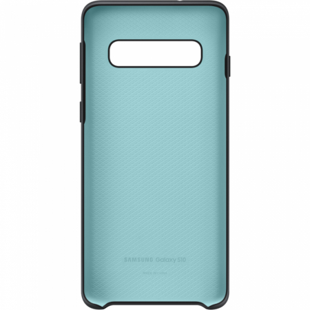 Husa spate Silicone Cover Flexible Gel pentru Samsung Galaxy S10, neagra3