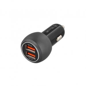 Incarcator auto Tellur Dual USB QC 3.0, 6A, Quick Charge Fast Charging0
