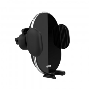 Suport auto cu incarcare wireless XO Car holder with wireless charger WX013 black 10W2