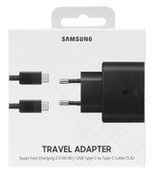 Incarcator Retea cu cablu USB Tip-C Samsung PD 45W Super Fast Charge, 1 X USB, Negru, Blister EP-TA845XWEGWW Note 101