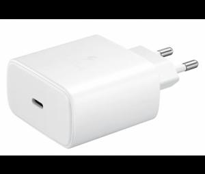 Incarcator Retea cu cablu USB Tip-C Samsung PD 45W Super Fast Charge, 1 X USB, Alb, Blister EP-TA845XWEGWW Note 10 [1]