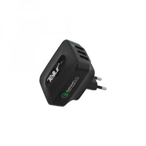 Incarcator retea 3 usb, QuickCharge  QC 3.0 – 3 USB ports 5A (1 x QC 3.0 & 2 x USB)3