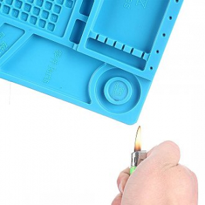 Pad Silicon banc lucru profesional, magnetic 46 x 30cm3