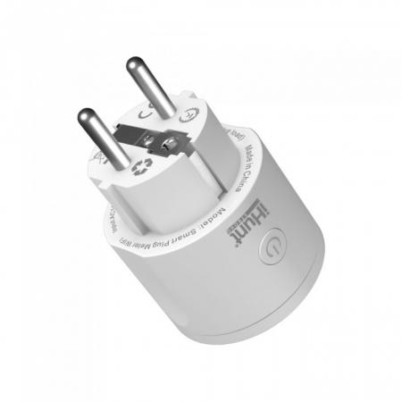 Priza inteligenta iHunt Smart Plug Meter WIFI Alb [1]