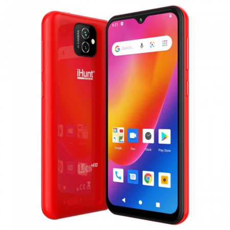"Telefon iHunt Like Hi10 RED , 3G ,Display 5.5"" , Memorie 16gb, 1gb Ram [0]"