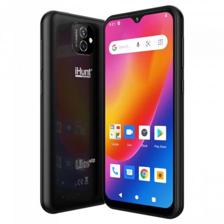 "Telefon iHunt Like Hi10 Black , 3G ,Display 5.5"" , Memorie 16gb, 1gb Ram5"