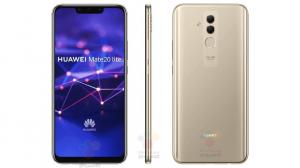 Telefon mobil Huawei Mate 20 Lite, Dual SIM, 64GB, 4G Gold0