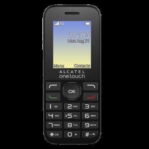 Telefon Mobil 3G Alcatel 20.35 Negru, Digi RDS Digi Mobil0