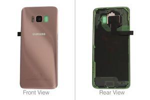 Capac baterie Samsung Galaxy S8 G950F Pink Roz Original0