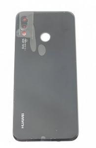 Capac baterie pentru Huawei  P20 Lite Negru Original Service Pack cu amprenta [1]