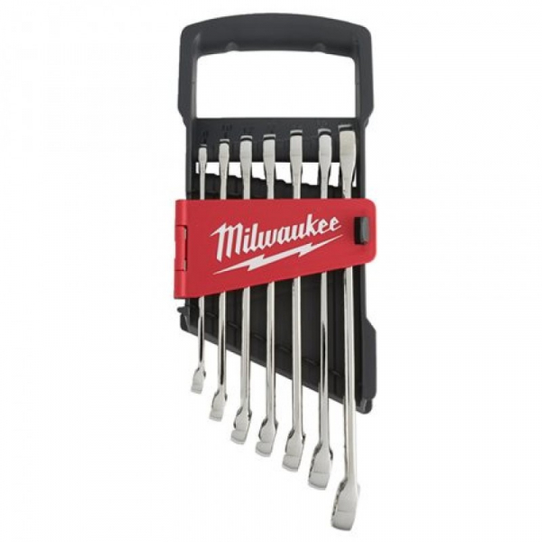 SET DE CHEI COMBINATE MILWAUKEE, 10MM-17MM, 7BUC, 4932464257 0
