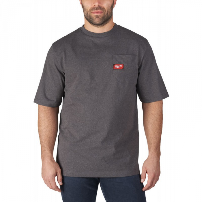 Tricou de lucru WorkSkin™, GRI, model WTSSG (S) Milwaukee (4933478231) 0