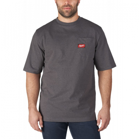 Tricou de lucru WorkSkin™, GRI, model WTSSG (S) Milwaukee (4933478231)0