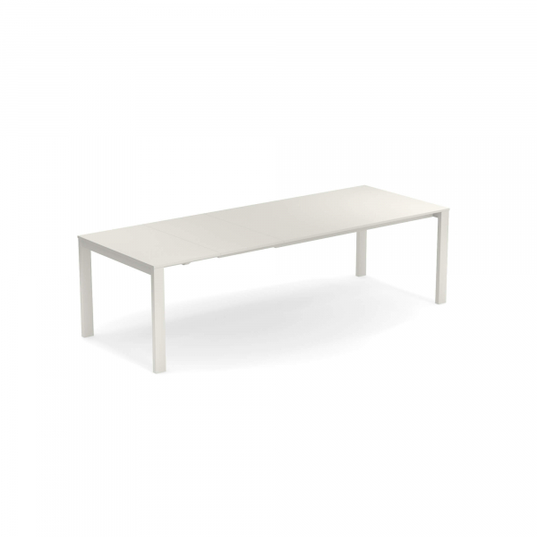 Round Extensible table with steel sheet top – Emu 1