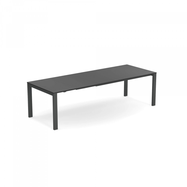 Round Extensible table with Hpl top 160+54+54×100 – Emu [0]